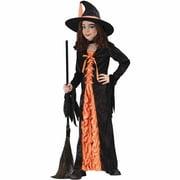 Orange Witch Mystic Child Halloween Costume