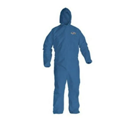 Kimberly Clark KCC58514 Kleenguard A20 Particle Protection Apparel, Blue - Extra (Kimberly Clark Kleenguard Xp Coveralls)