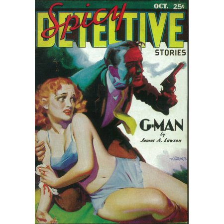 Spicy Detective Stories (Pulp) (1936) Laminated Movie Poster Print 24 x 36](Spicy Detective)