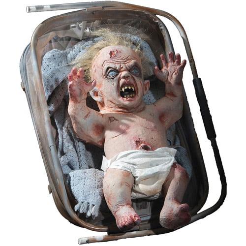 Life-Size Zombie Baby Halloween Prop