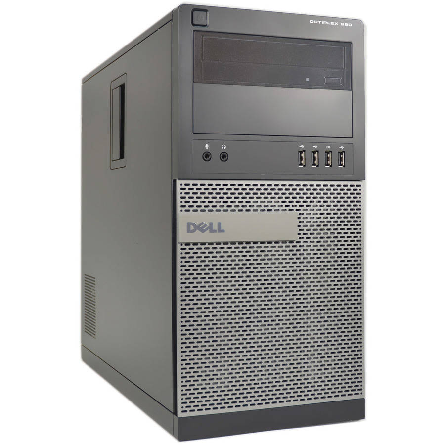 Refurbished Dell 990-T Desktop PC with Intel Core i5-2400 Processor, 4GB Memory, 250GB Hard Drive and Microsoft Windows 10 Pro (64bit)(Monitor Not Included)