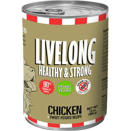 Livelong Healthy & Strong Chicken + Sweet Potato / 12 Units Per Box