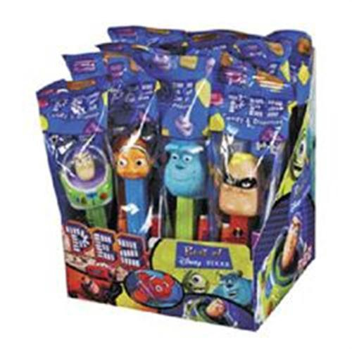 PEZ Disney Best Of Pixar Assorted 12 ea (Pack of 3)