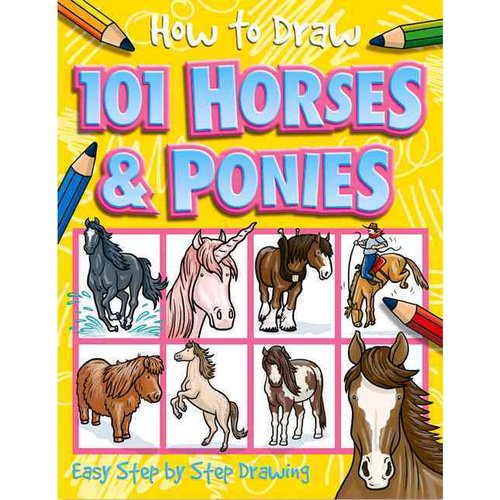 How to Draw 101 Horses & Ponies
