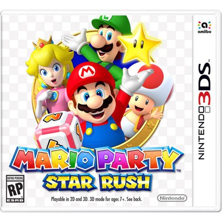 Mario Party Star Rush For Nintendo 3Ds