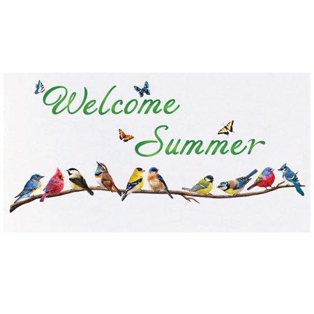 Welcome Summer Garage Door Magnets - Garage Door Magnets
