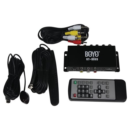 Boyo VTMHS Mobile TV Tuner with Waterproof Active Antenna