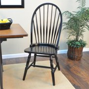 Carolina Classics Winslow Windsor Chair in Antique Black by Carolina Classic