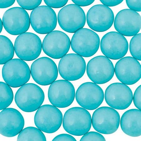 Medium Shimmer Light Blue Gumballs - Blue Gum Balls