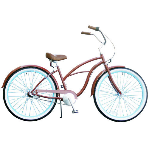 Sixthreezero Bikes Women's Brick n'Blue 3 Speed Cruiser