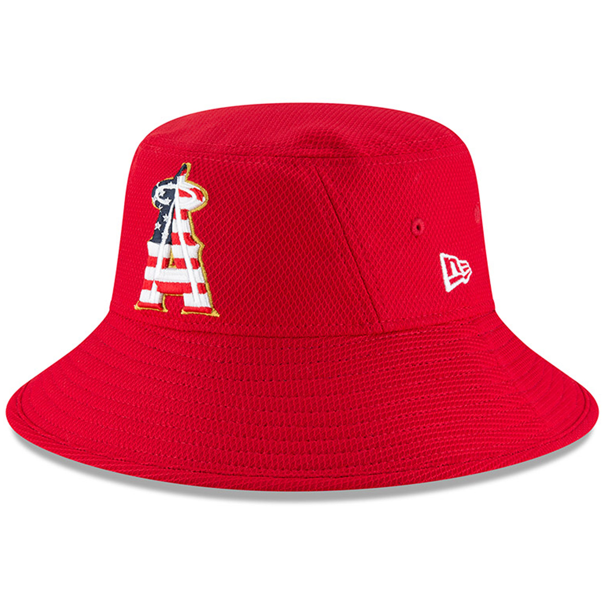 Los Angeles Angels New Era 2018 Stars   Stripes 4th of July Bucket Hat -  Red - OSFA - Walmart.com 59e93107495