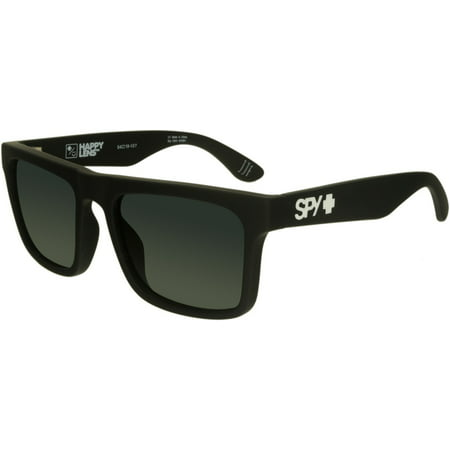 Spy Men's Atlas 673371973863 Black Square Sunglasses