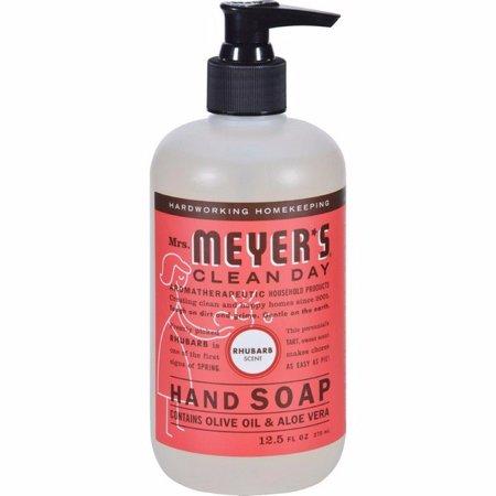 Mrs. Meyer's Liquid Hand Soap - Rhubarb- 12.5 Fl Oz - image 1 de 1