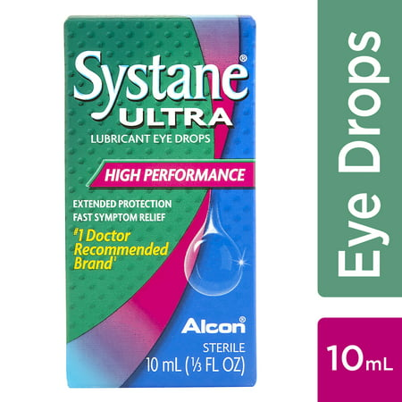 SYSTANE ULTRA Lubricant Eye Drops for Dry Eye Symptoms, 10mL