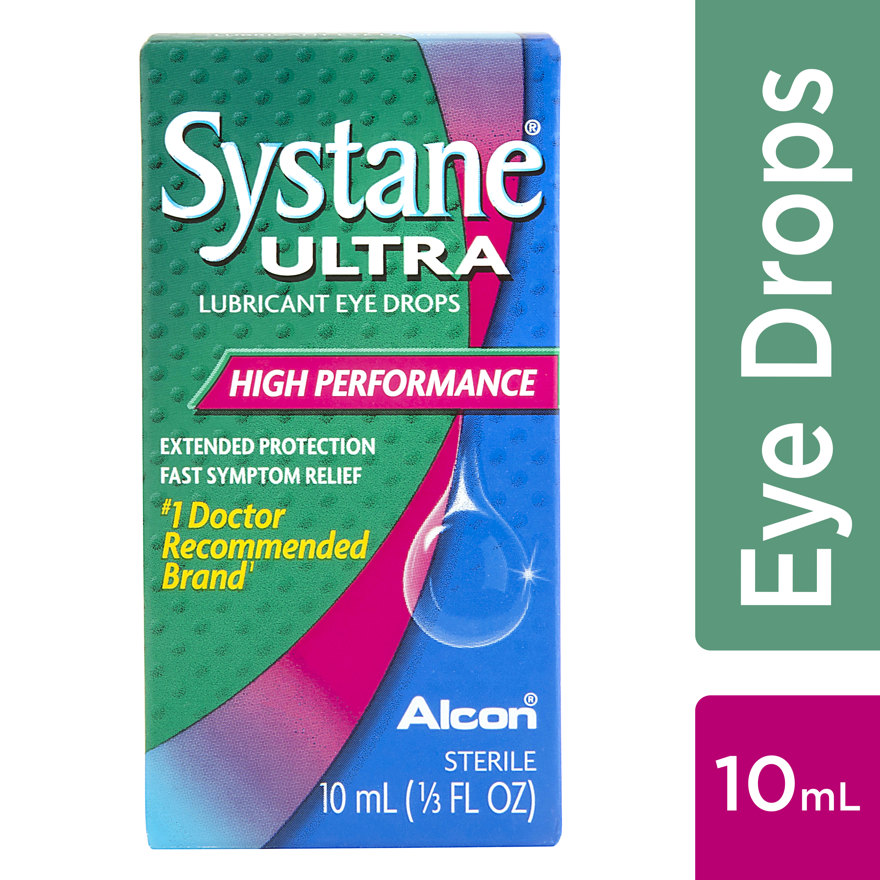 Systane Ultra Lubricant Eye Drops High Performance, 0.33 FL OZ