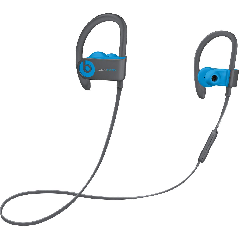 Powerbeats3 Wireless In-Ear Bluetooth Headphones - Flash Blue - MNLX2LL/A