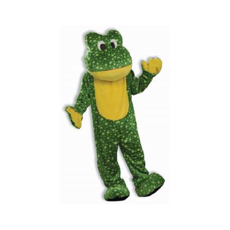 Mascot Costumes For Sale Cheap (COSTUME-DELUXE FROG MASCOT)