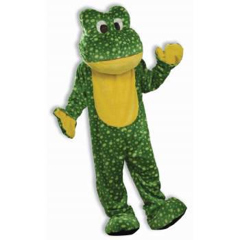 COSTUME-DELUXE FROG MASCOT - Bowling Green Mascot