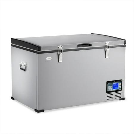 79 Quart Portable Electric Car Cooler Refrigerator Freezer Compressor Camping Walmart Canada
