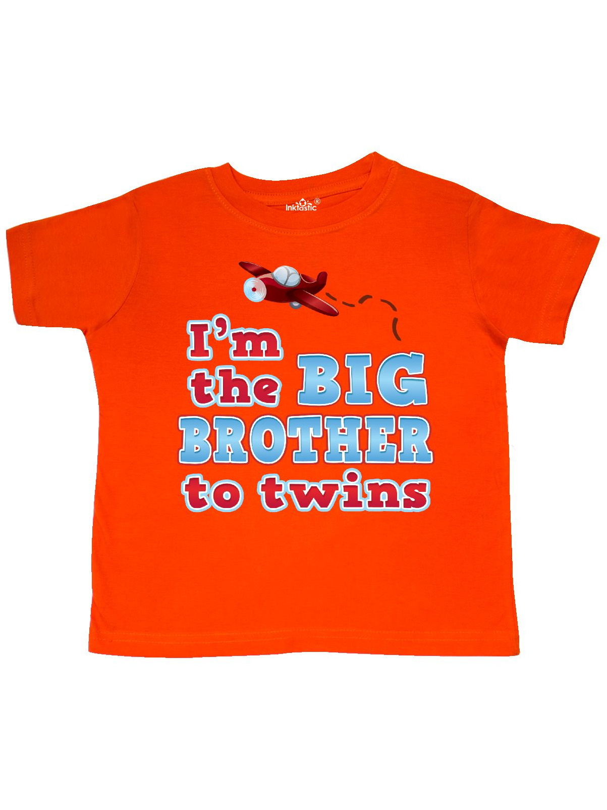 I'm the big brother to twins. Toddler T-Shirt