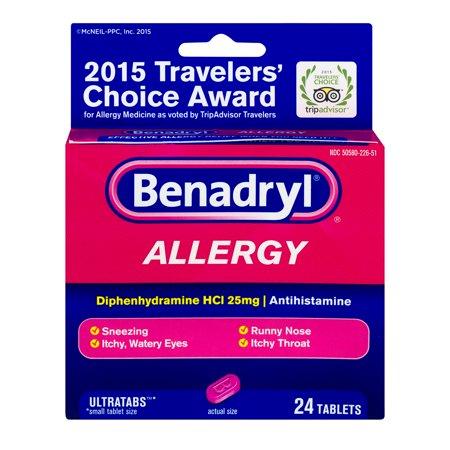 Benadryl Allergy Ultratabs - 24 CT (Benadryl Allergy Ultratabs)