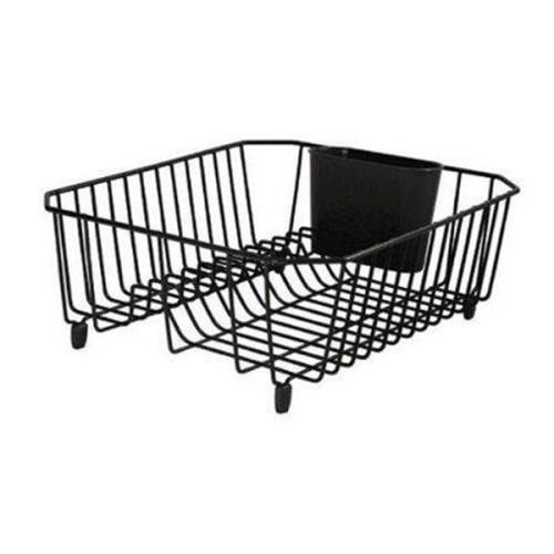 Rubbermaid Sinkware Small Wire Dish Drainer Black