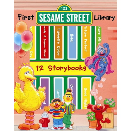 My First Lib Sesame Street (Sesame Street The Bear Went Over The Mountain)