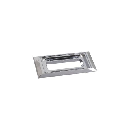 MACs Auto Parts 44-48015 Ford Mustang Dome Light Bezel - Chrome - Fastback & Coupe