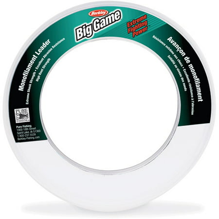 Berkley Trilene Big Game Fishing Line, 110 yd Leader Coil