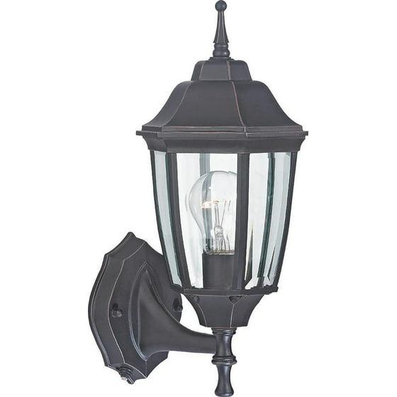 Porch Light Walmart: Boston Harbor DTDRB Dusk/Dawn Lantern Outdoor Lighting
