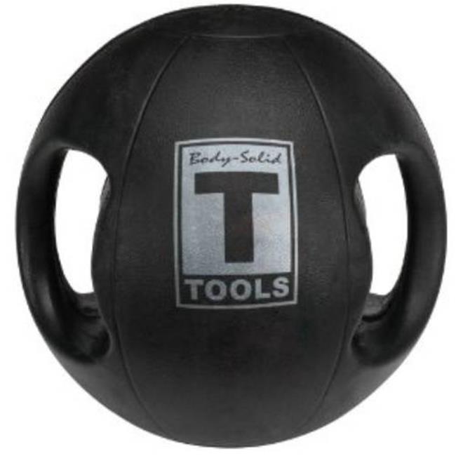 Body Solid Tools BSTDMB16 Dual Grip Medicine Ball 16 lbs.