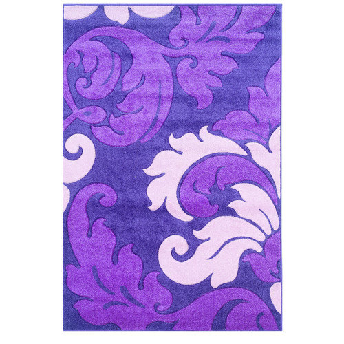 Wildon Home  Aspasia  Violet Area Rug