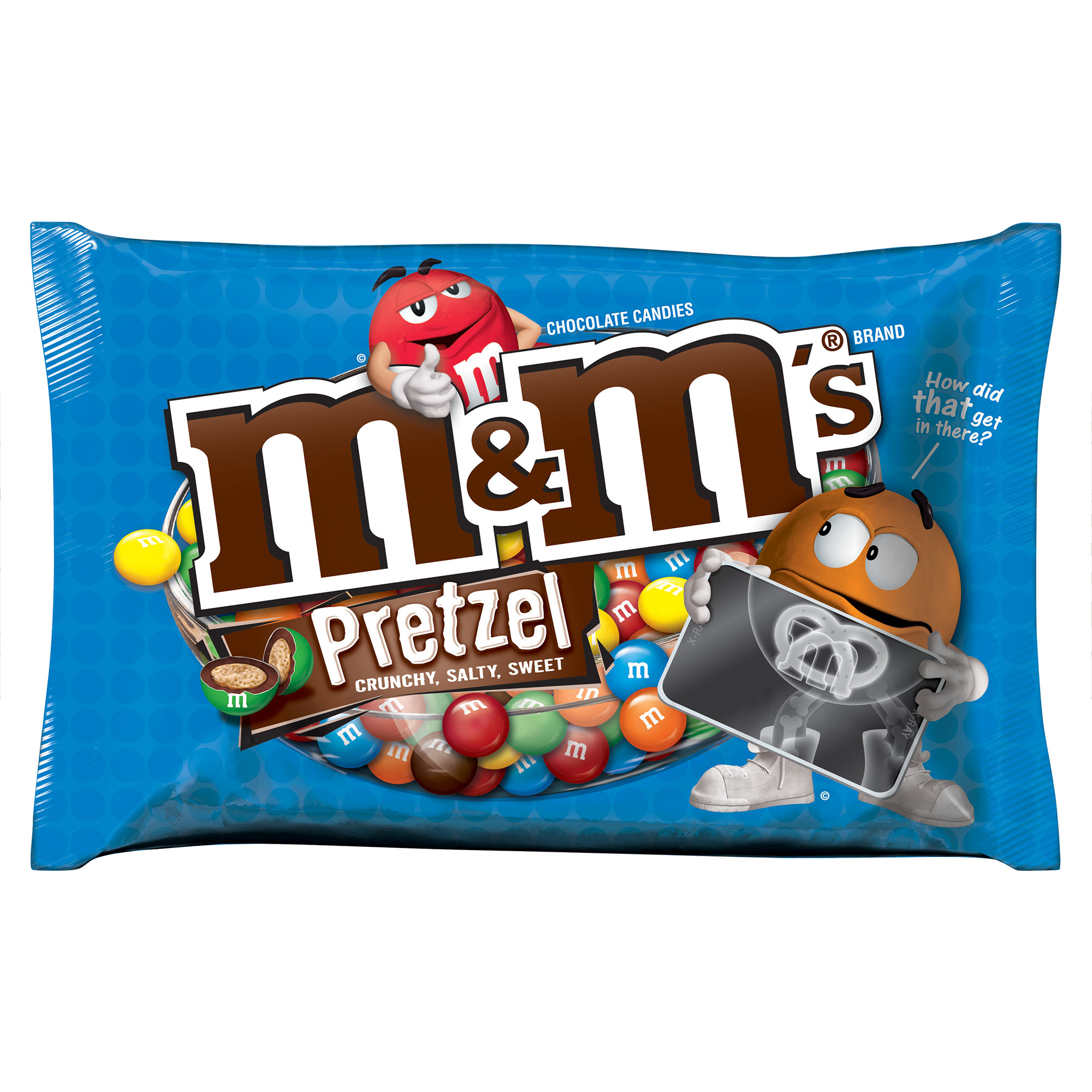 M&M'S Pretzel Chocolate Candy Bag, 15.4 oz