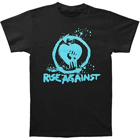 Rise Against Flag - Rise Against Heart Fist Men's T-Shirt