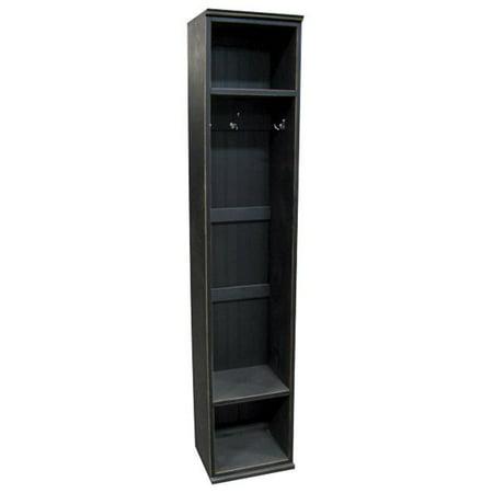 Sawdust City Entryway Storage Locker, Black ()