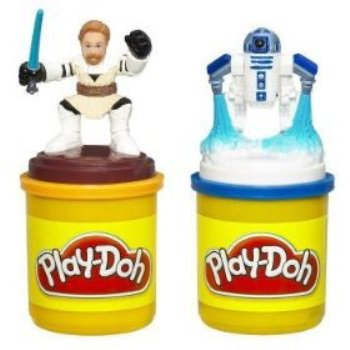 play-doh star wars the clone wars stampers with obi-wan &