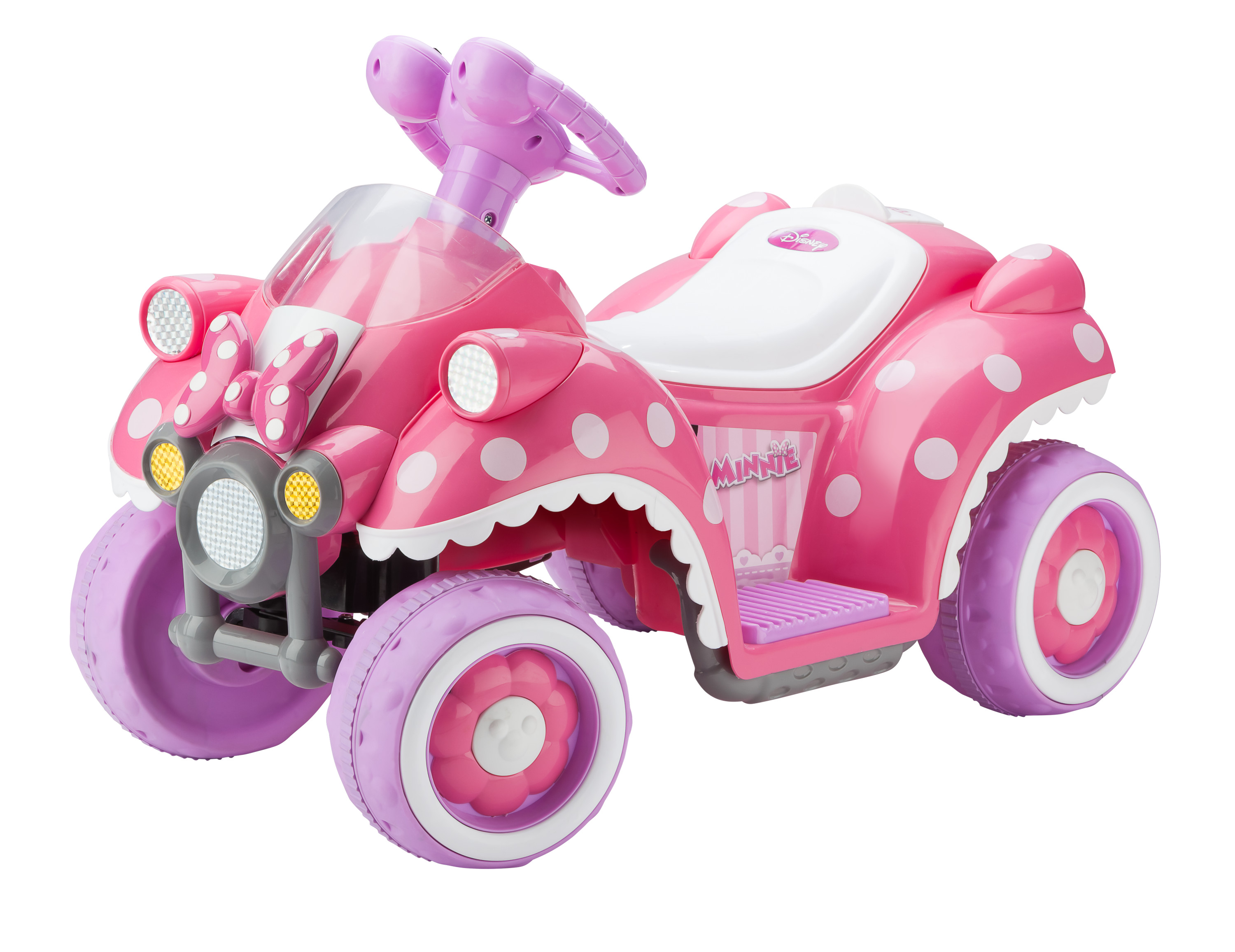 Kid Trax: Disney Minnie Mouse 6V Electric Quad Ride On! .99 at Amazon!
