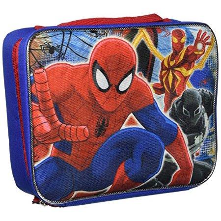 Spiderman SPCORC6ZA Rectangular Lunch Bag, Blue