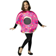 Strawberry Donut with Bite Child Halloween Costume, One Size, (7-10)