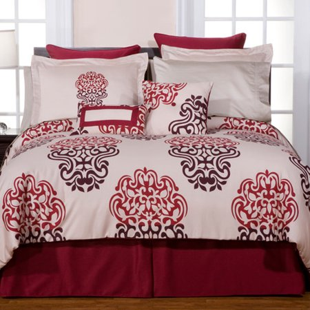 Image of Pointehaven Luxury 9 Piece Reversible Comforter Set