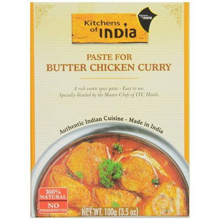 Kitchens of India Paste for Butter Chicken Curry, 3.5 Oz (Pack of (Best Uses For Almond Paste)