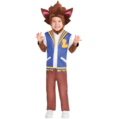 Party City Lobo Halloween Costume for Toddler Boys, Super Monsters, Includes Accessories