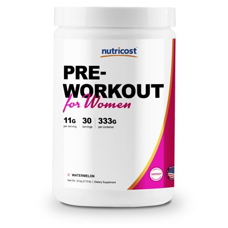 Nutricost Pre-Workout Powder for Women (Watermelon) 30