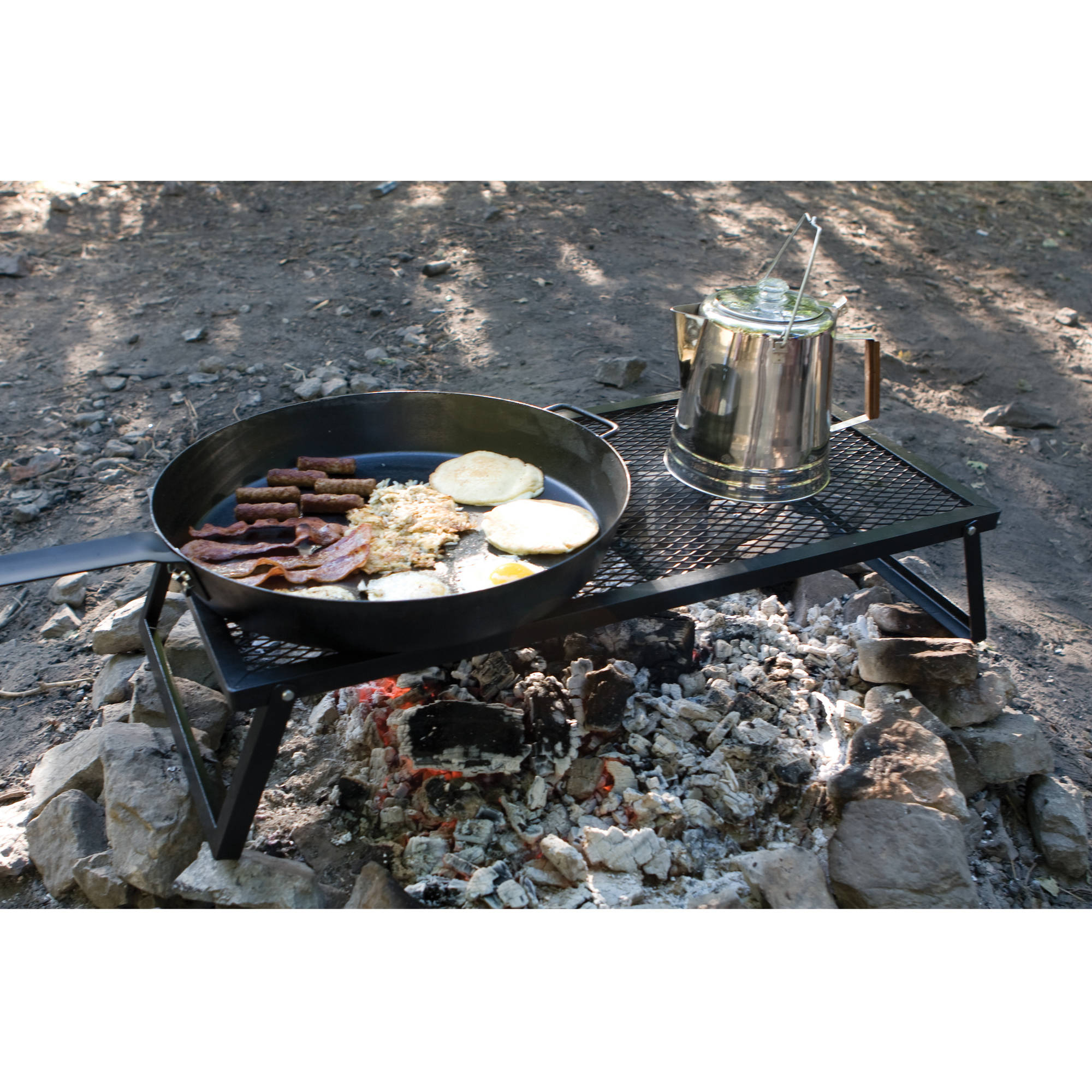 "Camp Chef Lumberjack 36"" x 18"" Cooking Surface Over the Fire Grill"