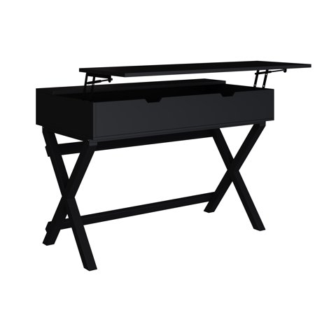 X Base Lift Top Desk, Multiple Colors