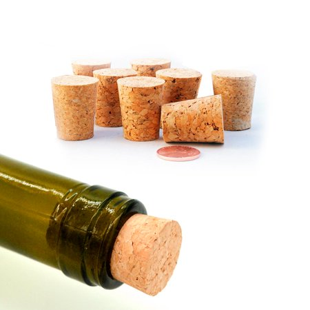 8 Tapered Wine Stopper Plug Cap Bottle Cork Plug Brew Decantor Wooden Spout (Square Wine Bottle Stopper)