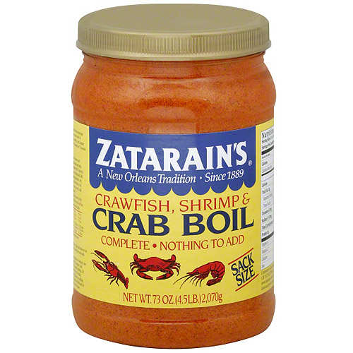Zatarain's Crawfish Shrimp & Crab Boil, 73 oz (Pack of 6)