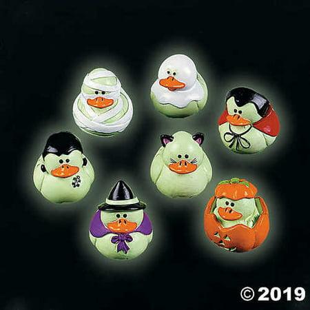 Glow in the Dark Halloween Duckies - 12 per unit](Film Per Halloween)