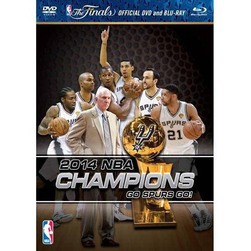 2014 NBA Championship: Highlights - Go Spurs Go! (Blu-ray   DVD)