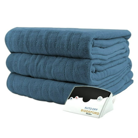 Pure Warmth Luxurious MicroPlush Electric Heated Blanket